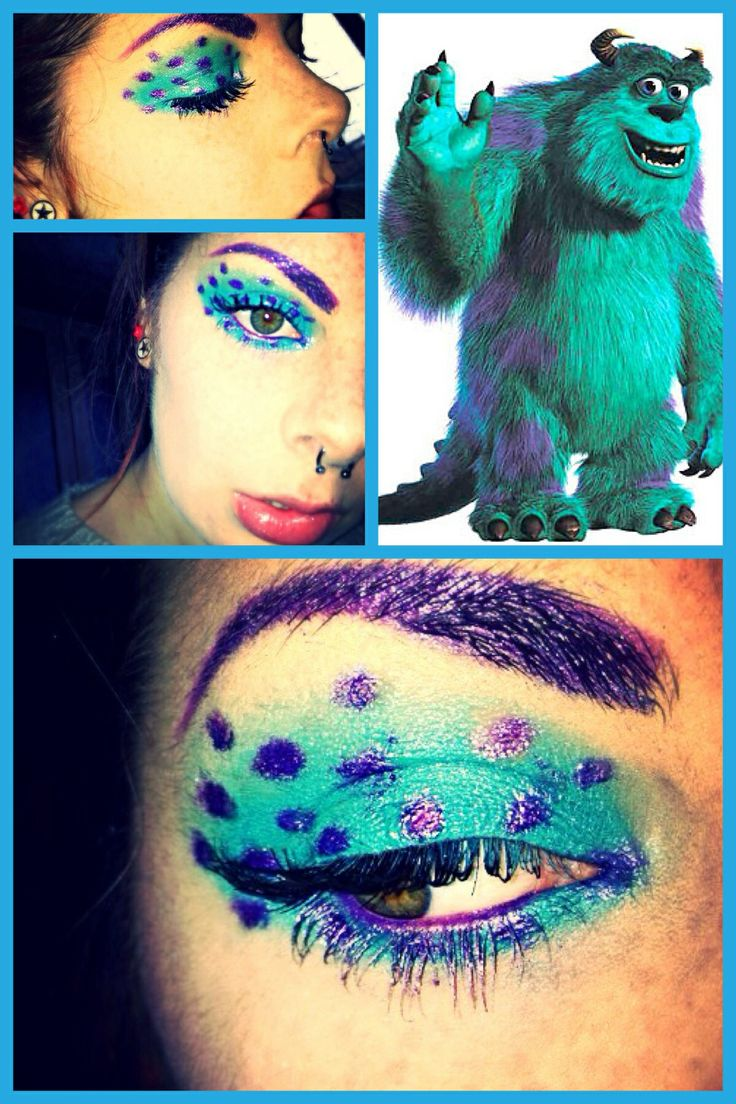 Sully from Monsters inc eyes