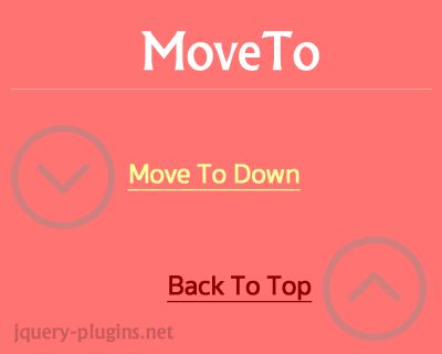 MoveTo – Lightweight, Smooth Scrolling Javascript Library #scroll #effect #move #tiny #javascript #scrollto #smooth