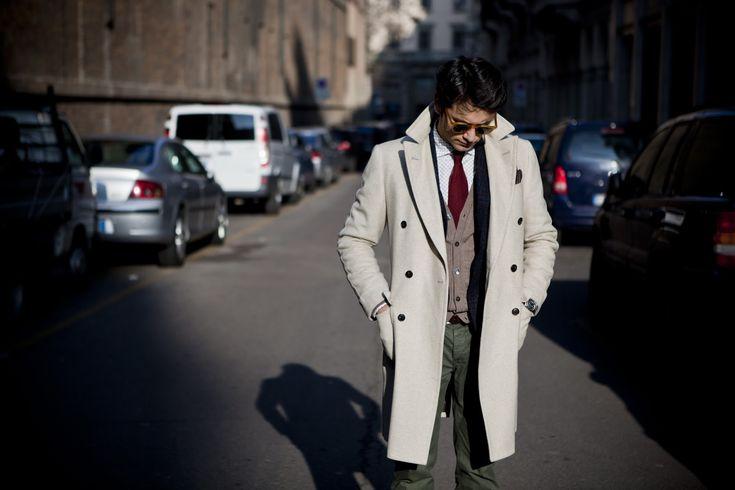 """Third picture in Fabio Attanasio's blog post """"MERANO COAT"""". Model: Fabio Attanasio."""
