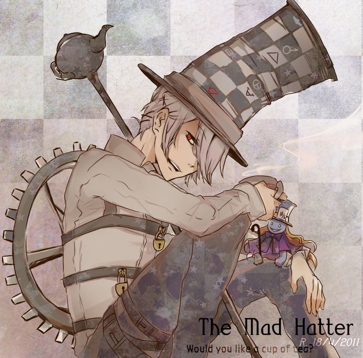 mad hatter anime | mr mad hatter by rondippi fan art manga anime digital other 2011 2014 ...