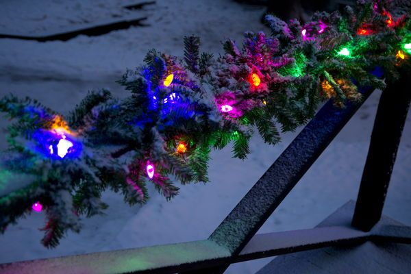 Granslinga 40 LED - Ljusslingor - Rusta