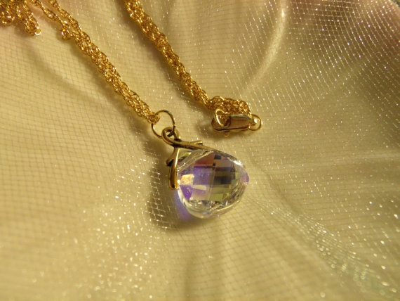 18inch Gold Filled Rope Chain with Gorgeous by terrykellyjewelry, $48.00: 18Inch Gold