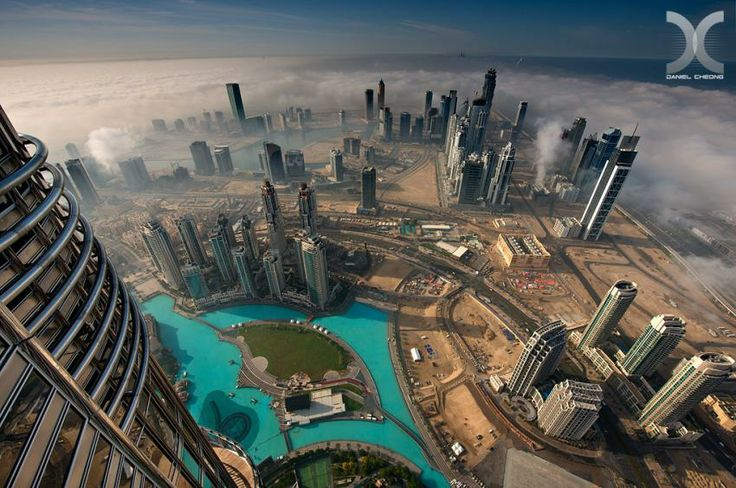 De la etajul 101 al Burj Khalifa
