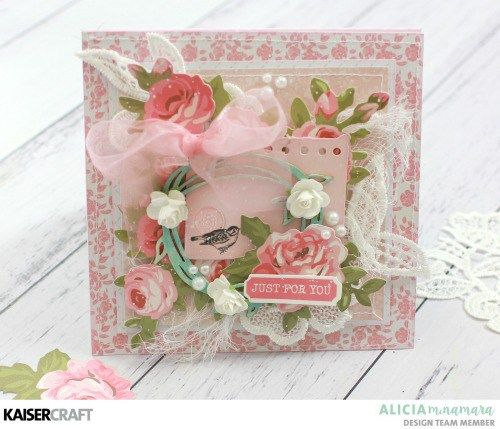 Kaisercraft Miss Betty Hand Made Card by Alicia McNamara