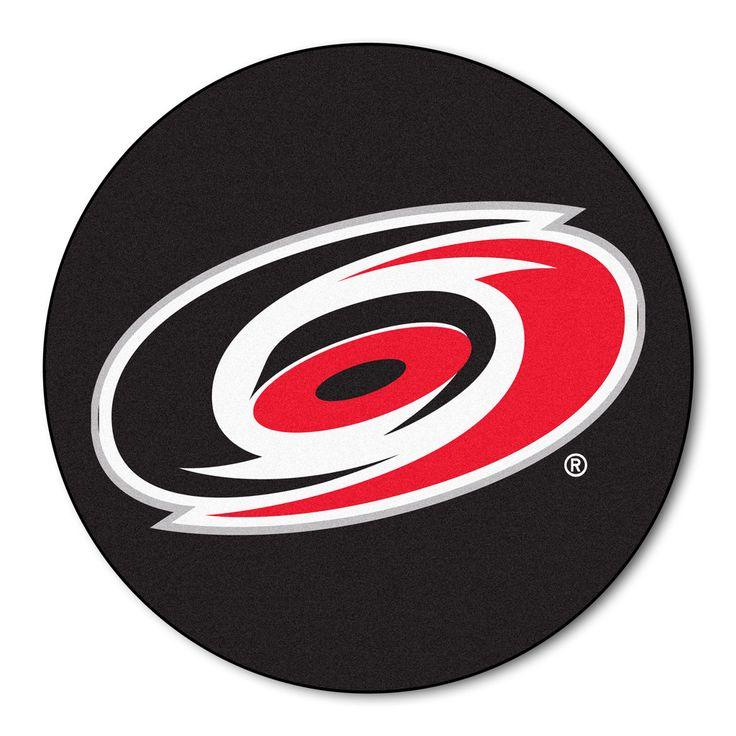 Carolina Hurricanes Hockey Puck Area Rug