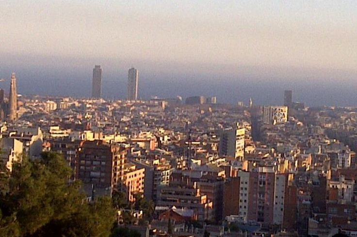 Barcelona Shot from the top