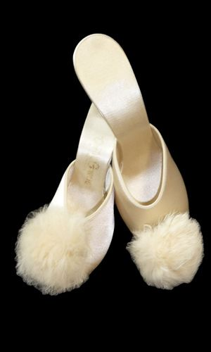 159 best Vintiage Slippers, et al images on Pinterest
