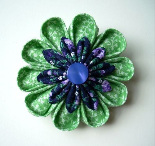 duct tape flowers instructions | asked Diane a couple questions about making kanzashi:
