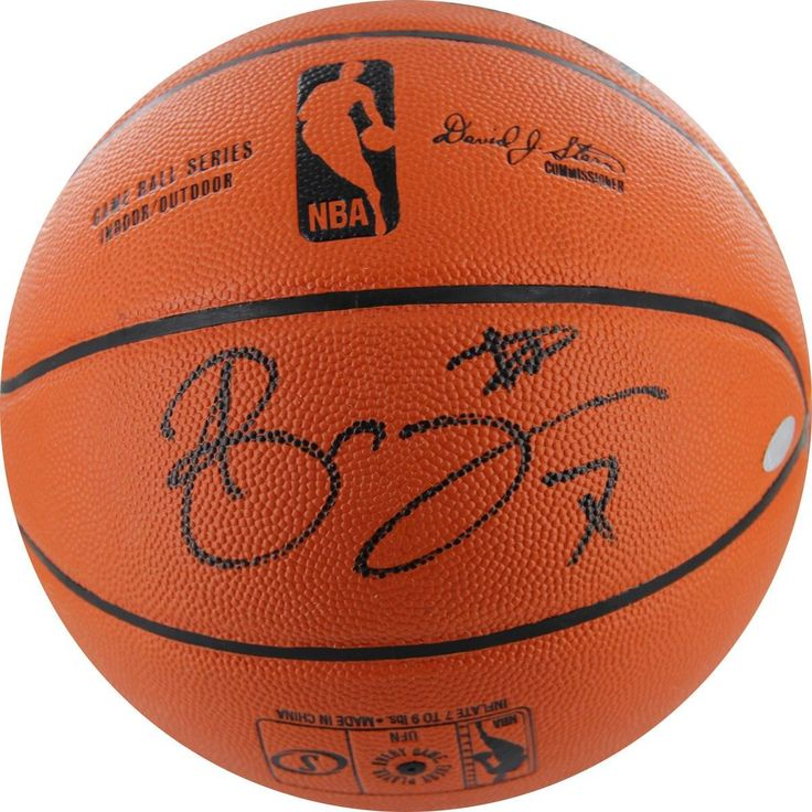 Andrea Bargnani Signed Basketball