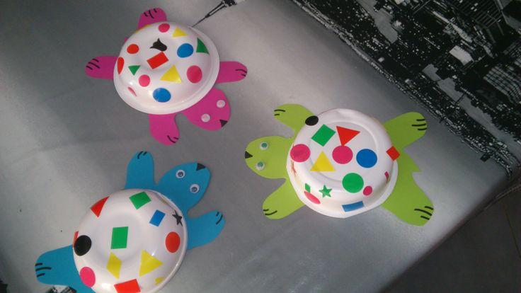kleurrijke schildpadden :)