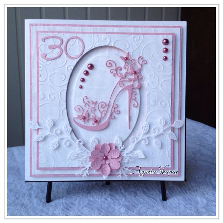Love this shoe from Tattered lace! Here I made a birthday card!
