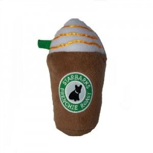 Starbucks Coffee Dog Toy - Starbarks - from Swanky Pet!