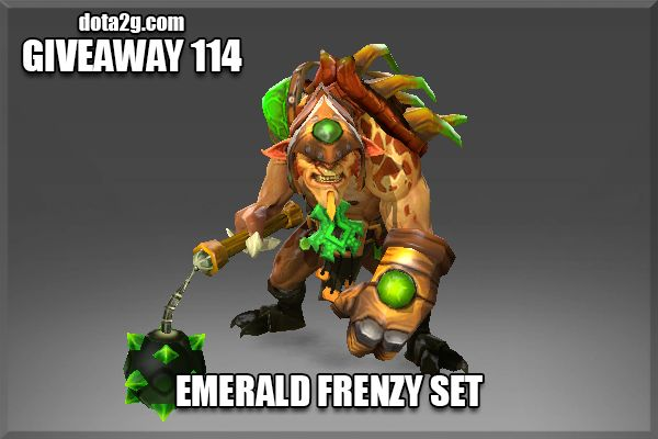 Giveaway 114 - Emerald Frenzy Set