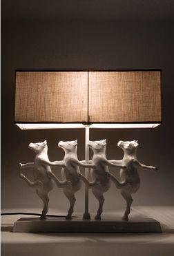 dancing cows lamp /this is not a chair -een lampje in zetelland :-