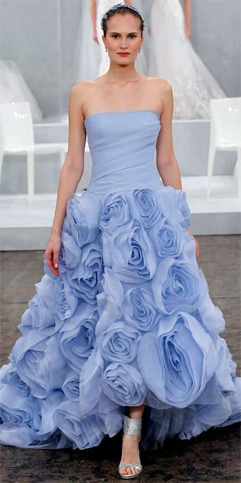Abiti da sposa blu azzurri atelier aimee