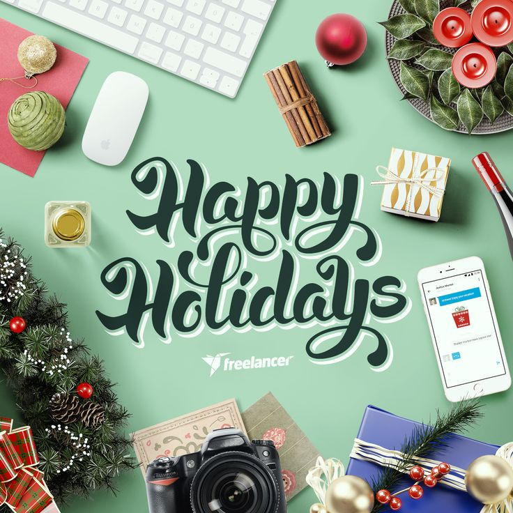 Warmest holiday greetings from Freelancer!