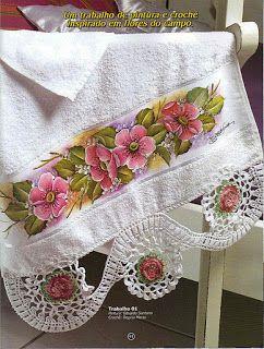 Barrados de Croche: Barrado de Flores.. #inspiration_crochet_diy GB ...