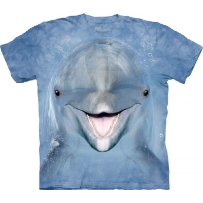 Tricouri The Mountain – Tricou Dolphin Face