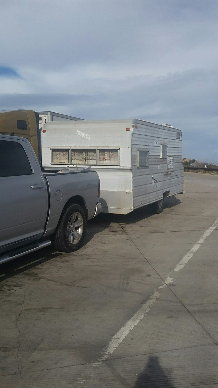 1968 red dale 18ft trailers