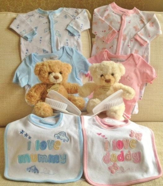 Twin baby gift hamper the originalhampercompany.co.uk