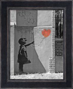 Banksy - New North Road Art Print by Panorama London - WorldGallery.co.uk