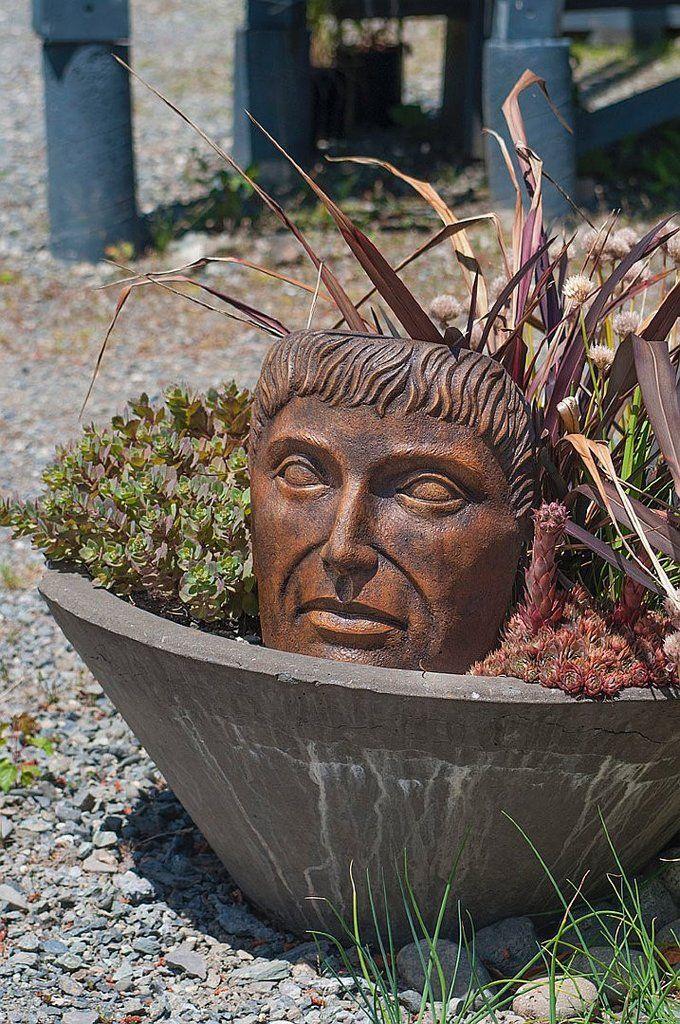 Tabletop Young Emperor. Garden StatuesOutdoor PatiosEmperorUnique Gifts TabletopConcrete