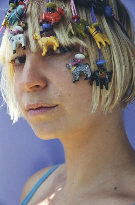 Sia. She's crazy but her music is fantastic!