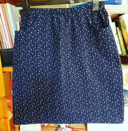 Lulu's Bettine skirt hack - sewing pattern by Tilly and the Buttons