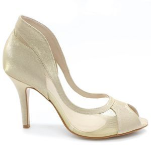 Sapato Laura Porto Peep Toe RL9321 (Noiva Colorido)
