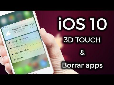 iOS 10 3D Touch & Borrar apps del sistema | ZIDACO -  Best sound on Amazon: http://www.amazon.com/dp/B015MQEF2K - http://gadgets.tronnixx.com/uncategorized/ios-10-3d-touch-borrar-apps-del-sistema-zidaco/