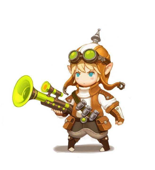 Unica KIMI _꼬꼬마 캐릭터 원화가