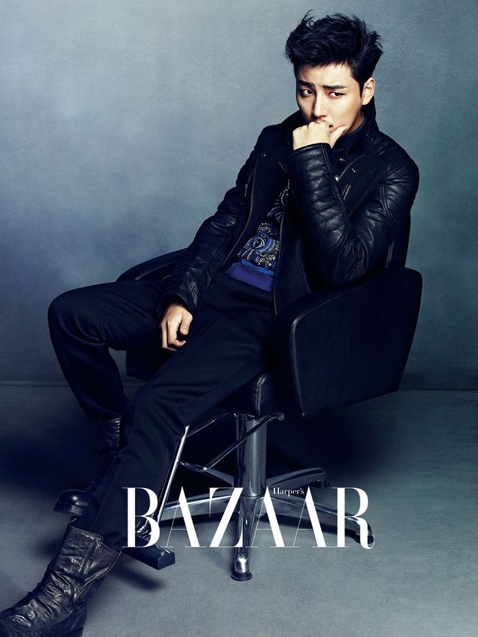 Yoon Si Yoon Is Even Prettier With New Short Hair In Harper's Bazaar Korea's December 2013 Edition | Couch Kimchi