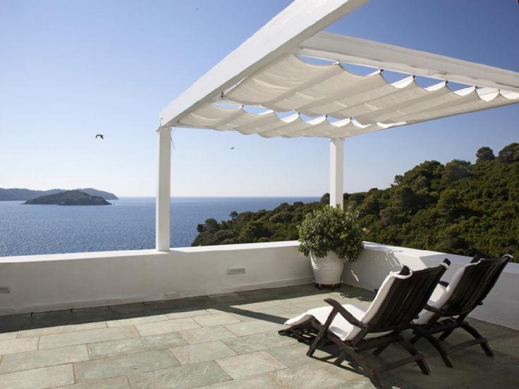 Deco Terrasse La Terrasse De Style Iles Grecques Et Mediterraneen ...