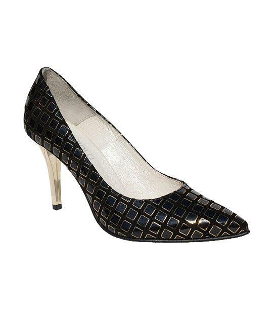 FashionSupreme - Pantofi în negru cu motive figurale - Încălţăminte - Pantofi - Bosccolo - standard ridicat pentru Ea. Haine şi accesorii de marcă. Haine de designer.
