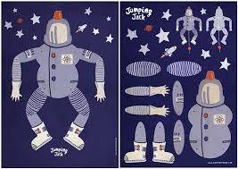 Resultado de imagen para muñecos articulados de papel