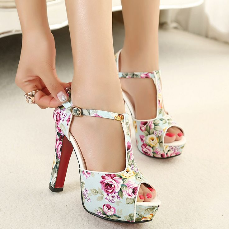Excellent  Indian Beautiful High Heel Shoes 2014 For Women Only On Pakistylescom