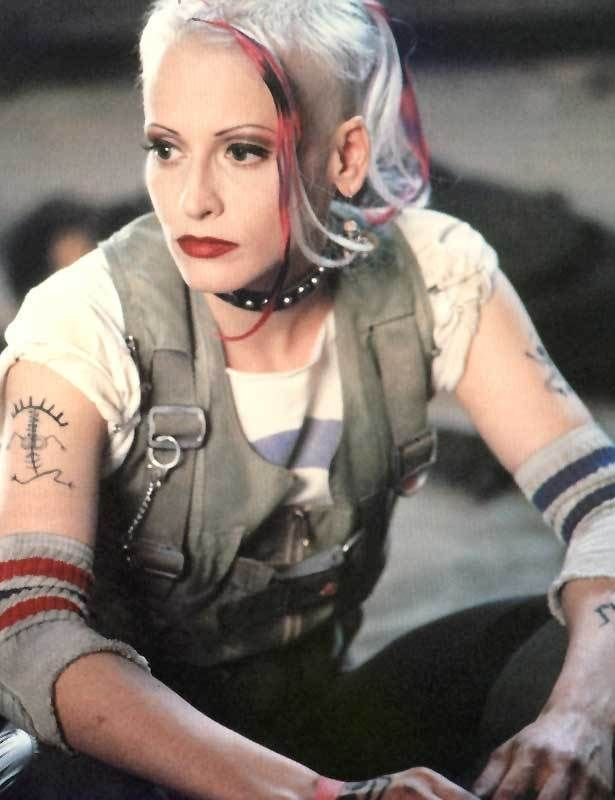 Tank Girl, I know I fell asleep while u where watching it, U turned out just fine, really