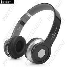Casque audio sans fil Bluetooth - 3.5mm - NOIR - Gestion Fce - Liv. gratuite !
