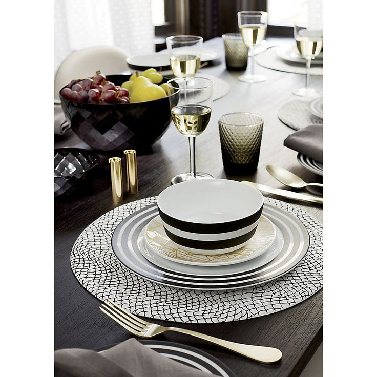 Simple, modern dinnerware. Designed to complement your food, not compete with it, our colorful dishes and modern dinnerware sets will make every meal a bit more stylish.