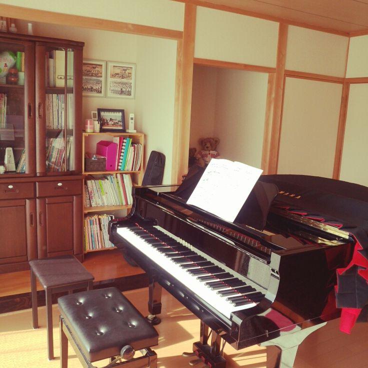 ピアノ/ピアノ部屋…などのインテリア実例 - 2014-10-15 21:16:46