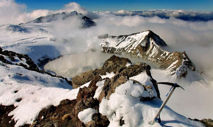 Geologists say Mount Ruapehu – backdrop for Mordor – is showing signs of increased volcanic activity