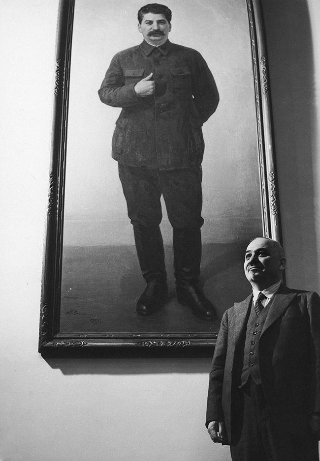 Ivan Maïsky à l'ambassade russe à Londres, juillet 1940