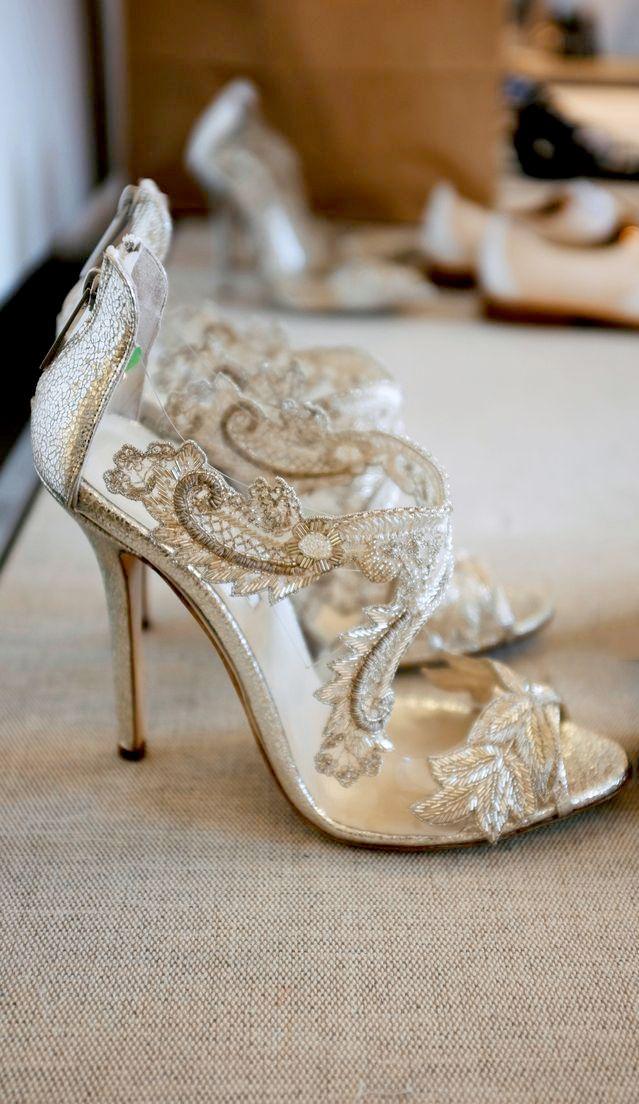 Lace Heels | Oscar de la Renta