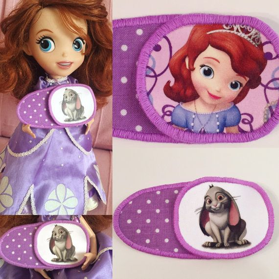 Eyepatches for children's with Sofia the First. от MalinkaArt