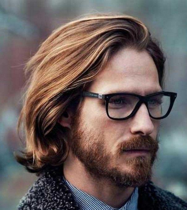 Sarışın Erkekler İçin Uzun Saç