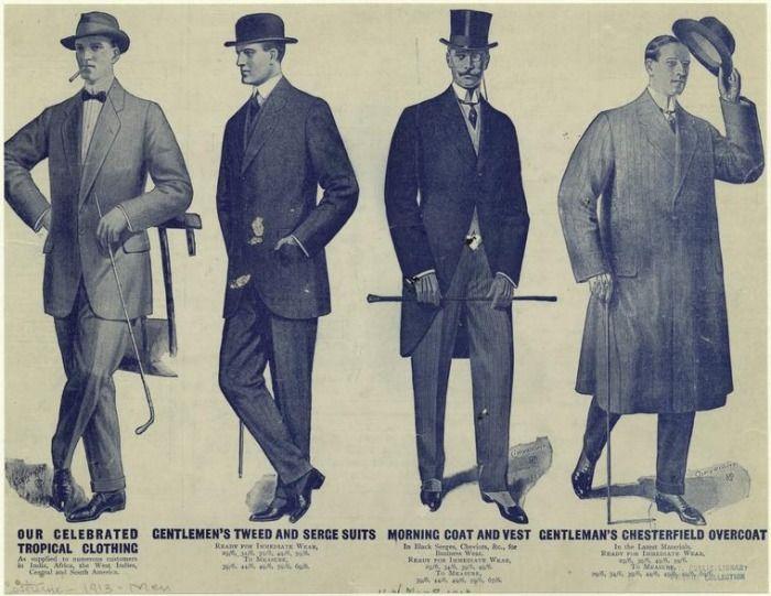 early 1900s fashion men - photo #7