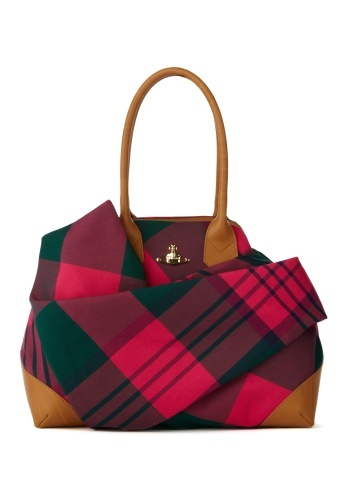 SUMMER #TARTAN #BAG, #Vivienne Westwood. So want one of these