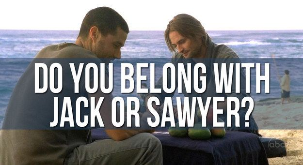 """Would You End Up With Jack Or Sawyer From """"Lost""""? Sawyer Sherlock the Otters results"""