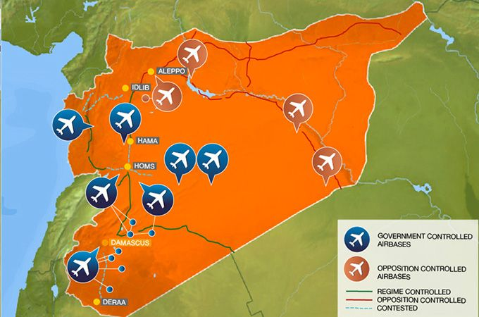 alJezeera has posted this wonderful interactive graphic exploring possible targets in Syria, capabilities, bases, etc. ~ Erin We Leave No One Behind   #syria #targets