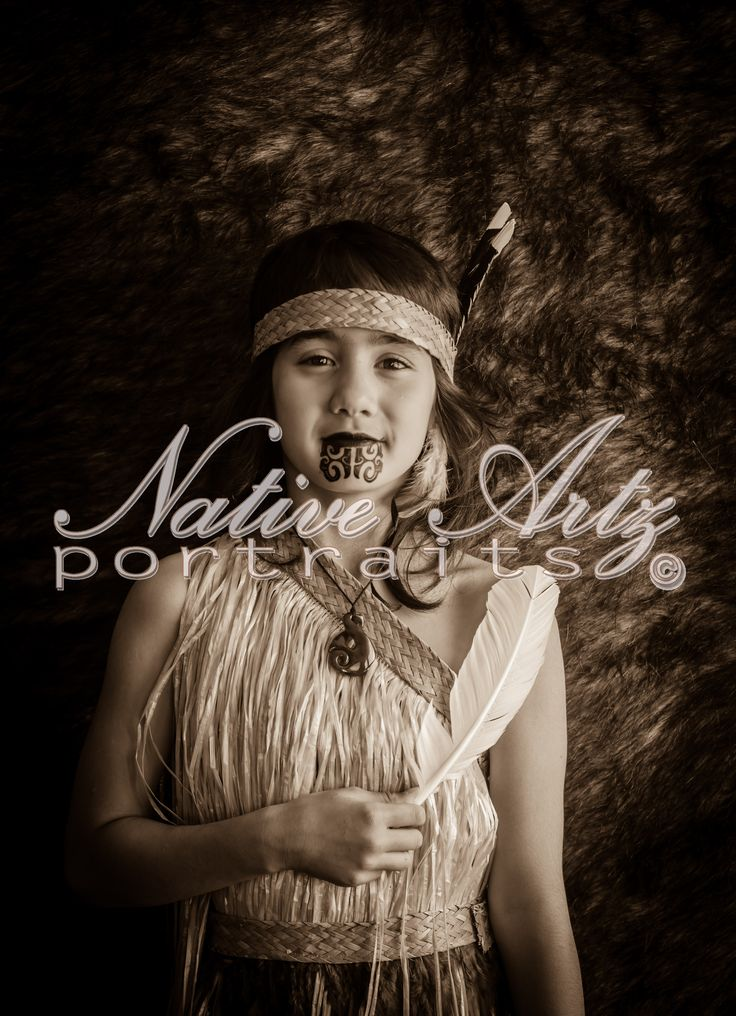 Native Artz Portraits 2014, Auckland, New Zealand, Tamariki (children), Maori Portrait, get your own at https://www.facebook.com/NativeArtzPortraits